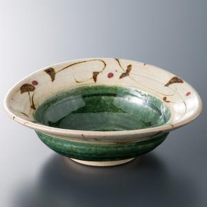 和食器 織部たこ唐草ひねり4,5寸 小鉢 ボウル カフェ 食器 陶器 おうち おしゃれ プチ ミニ 日本製|sara-cera