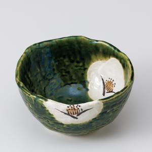和食器 織部椿深 小鉢 ボウル カフェ 食器 陶器 おうち おしゃれ プチ ミニ 日本製|sara-cera