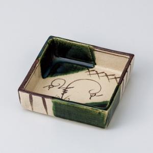 和食器 織部つる花浅 小鉢 ボウル カフェ 食器 陶器 おうち おしゃれ プチ ミニ 日本製|sara-cera