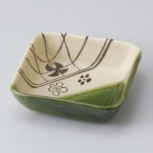 和食器 織部梅角中 小鉢 ボウル カフェ 食器 陶器 おうち おしゃれ プチ ミニ 日本製|sara-cera