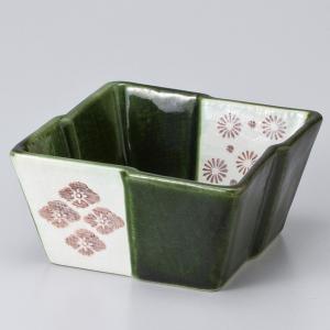 和食器 織部古紋深角 小鉢 ボウル カフェ 食器 陶器 おうち おしゃれ プチ ミニ 日本製|sara-cera