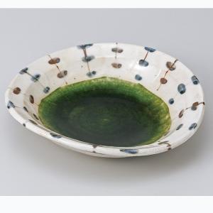 和食器 織部すだれ 煮物皿 中鉢 ボウル おうち ごはん うつわ 陶器 カフェ 日本製 おしゃれ 煮物 サラダ|sara-cera