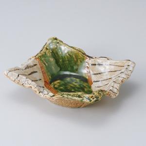 和食器 織部細十草長角 向付 中鉢 ボウル おうち ごはん うつわ 陶器 カフェ 日本製 おしゃれ 煮物 サラダ|sara-cera