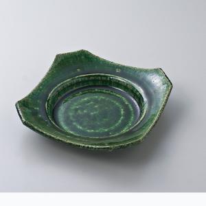 和食器 松助窯織部 角向付 中鉢 ボウル おうち ごはん うつわ 陶器 カフェ 日本製 おしゃれ 煮物 サラダ|sara-cera