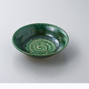 和食器 松助窯 織部 平鉢 中鉢 ボウル おうち ごはん うつわ 陶器 カフェ 日本製 おしゃれ 煮物 サラダ|sara-cera