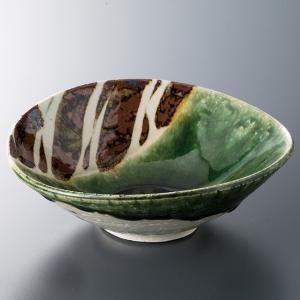 和食器 織部十草たわみ取り鉢 中鉢 ボウル おうち ごはん うつわ 陶器 カフェ 日本製 おしゃれ 煮物 サラダ|sara-cera