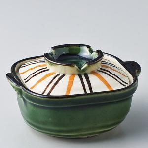 和食器 ちょこっと 織部十草鍋 蓋物 小鉢 豆鉢 中 ミニ プチ 小さな うつわ ボウル カフェ おしゃれ おうち 陶器 日本製|sara-cera