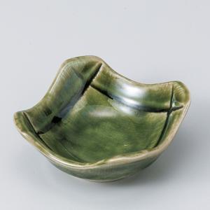 和食器 ちょこっと 織部 ソギ格子角 小鉢 豆鉢 ミニ プチ 小さな うつわ ボウル カフェ おしゃれ おうち 陶器 日本製|sara-cera