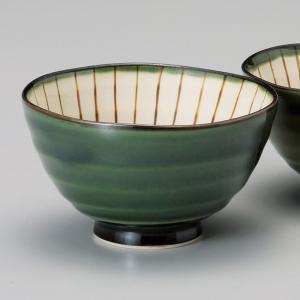 和食器 織部内筋 大 ご飯茶碗 飯碗 茶碗 おうち うつわ 陶器 日本製 らいすぼーる 軽井沢 春日井|sara-cera