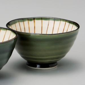 和食器 織部内筋 小 ご飯茶碗 飯碗 茶碗 おうち うつわ 陶器 日本製 らいすぼーる 軽井沢 春日井|sara-cera