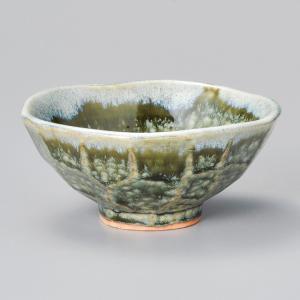 和食器 織部おふけ ご飯茶碗 飯碗 茶碗 おうち うつわ 陶器 日本製 らいすぼーる 軽井沢 春日井|sara-cera