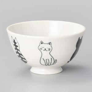 和食器 おすわり ねこ 猫 ネコ キャット 子供 キッズ 女性用 ご飯茶碗 飯碗 茶碗 おうち うつ...