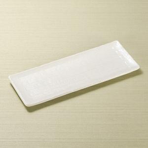 和食器 白釉さんま皿 30.3×12×1.8cm 長角皿 トレー うつわ おうち 陶器 カフェ おしゃれ 軽井沢 春日井|sara-cera