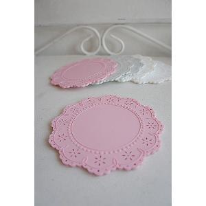 レースコースター(Pink)|sara-style