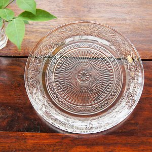 claccic glassプレートLサイズ|sara-style