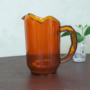 ウォーター・ピッチャー(amber)Sサイズ|sara-style