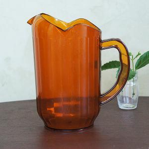 ウォーター・ピッチャー(amber)Lサイズ|sara-style