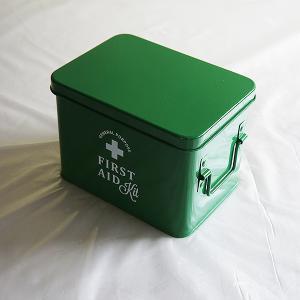 ホーロー・エイド缶Sサイズ(green)|sara-style