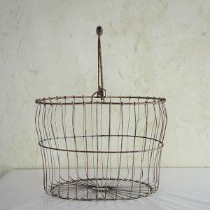 antiquewireバスケットMサイズ|sara-style