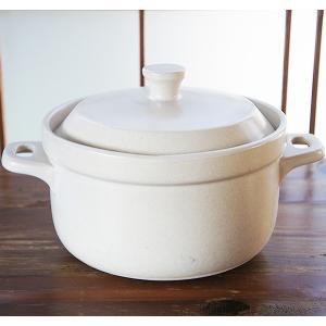 【炊飯5合】フラムご飯鍋(白)|sara-style