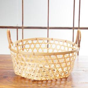 竹かごバスケット(L)|sara-style