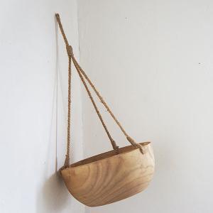 【天然木】carving hanging bowl|sara-style