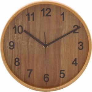 不二貿易 プライウッド掛時計 Φ22cm NA ...の商品画像