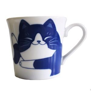 (業務用・マグカップ)ねこちぐらハチワレYKマグ(小)うすかる(入数:5)|sarara-tt
