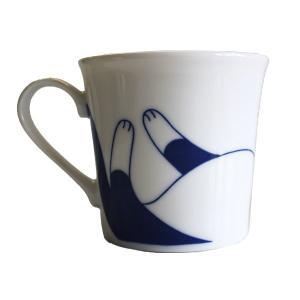 (業務用・マグカップ)ねこちぐらハチワレYKマグ(小)うすかる(入数:5) sarara-tt 02