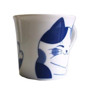 (業務用・マグカップ)ねこちぐらミケYKマグ(小)うすかる(入数:5)|sarara-tt|03