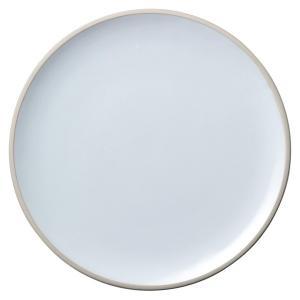 (業務用・丸皿)ルスト 28.5cmフラットプレート マイルドホワイト(入数:5) sarara-tt