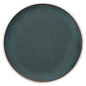 (業務用・丸皿)ルスト 28.5cmフラットプレート エメラルドグリーン(入数:5) sarara-tt