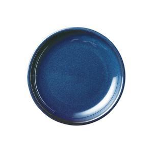 (業務用・丸皿)カントリーサイド 19.5cmケーキ皿 フォールズブルー(入数:5)|sarara-tt