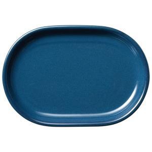 (業務用・楕円皿)カントリーサイド 31.5cmプラター フォールズブルー(入数:5)|sarara-tt