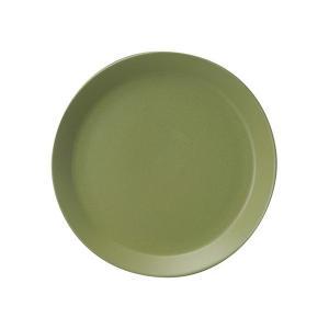 (業務用・丸皿)カントリーサイド 21cmプレート シラントロ グリーン(入数:5)