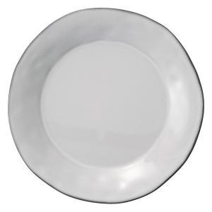(業務用・丸皿)ラフェルム 28cmプレート スモークホワイト(入数:5)|sarara-tt