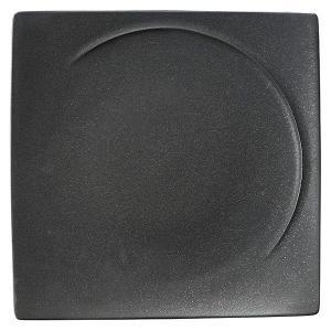(業務用・正角皿)アルコ 28cmスクエアープレート クリスタルブラック(入数:5)|sarara-tt