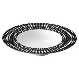 (業務用・スープ皿)ペルル 24cmディープスープボウル ブラック(入数:5) sarara-tt