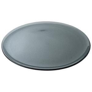 (業務用・丸皿)シーニュ 33cmプレート スモーク(入数:6)|sarara-tt