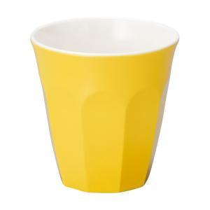 (業務用・タンブラー)メラミン食器 ドリンクカップ イエロー(入数:5)|sarara-tt