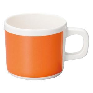 (業務用・マグカップ)メラミン食器 マグカップ オレンジ(入数:5)|sarara-tt