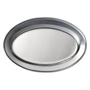 (業務用・楕円皿)ステンレス 30cmオーバルプラター (入数:5)