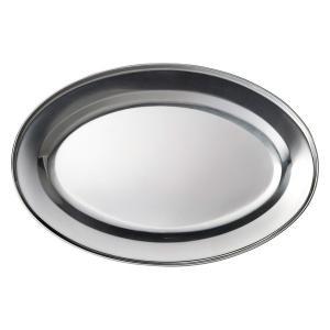 (業務用・楕円皿)ステンレス 25cmオーバルプラター (入数:5)
