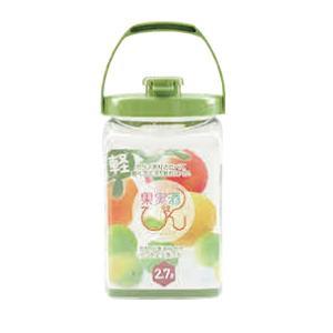 (業務用・保存容器)タケヤ 果実酒びん S型 2.7L(入数:1)|sarara-tt