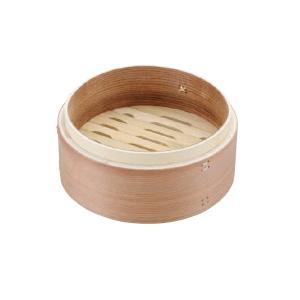 (業務用・丸)燕舞 杉製中華セイロ 15cm 身(入数:1)|sarara-tt