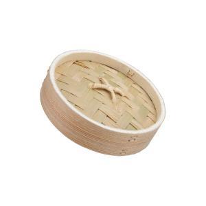 (業務用・丸)燕舞 杉製中華セイロ 15cm 蓋(入数:1)|sarara-tt