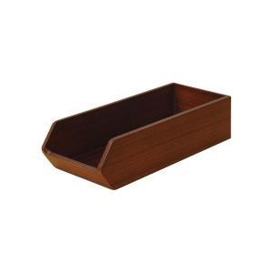 (業務用・カトラリーバスケット)木製カトラリートレー CT-01DB(ダークブラウン)(入数:1) sarara-tt