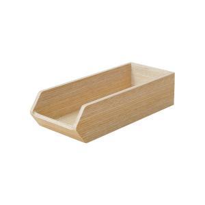 (業務用・カトラリーバスケット)木製カトラリートレー CT-01H(白木)(入数:1) sarara-tt