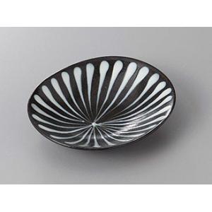 (業務用・楕円皿)スリップウェア楕円皿(千段)(入数:5)