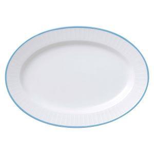 (業務用・楕円皿)スカイライン109スタック14吋プラター(入数:5)